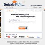 YouTubeにキャプション機能を提供するBubllePlay