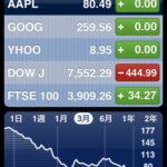 iPhone「株価」でチェックする世界経済
