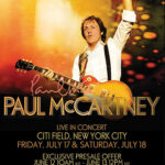 Paul McCartney Live Concert at New York City  2009 July 17&18