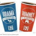 米セブンイレブンでの米大統領選がすでに始まっている!7-Eleven, Boston Market, Maker's Mark get political with ads