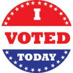 選挙に行ったら、I Voted Today 今日選挙にいってきた!キャンペーン