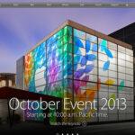 今回も心が踊らなかったAppleの発表会 2013年10月22日