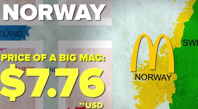 世界で一番ビッグマックが安い国はどこ?世界のビッグマック最高値から最安値まで! 28