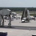 もしも…フランクフルト空港がスターウォーズ空港だったら…