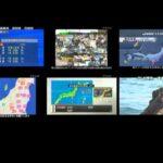 311 東日本大震災 地震発生時の全テレビ局同時マルチ映像 http://j.mp/eMJJ3n