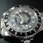 洗濯してしまったロレックスGMT時計