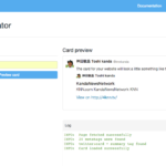 wordpress: twitter cardsの申請方法「概要を表示」に表示させる方法