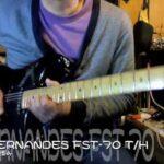 フェルナンデス ストラトキャスター FERNANDES BURNY CUSTOM FST70