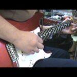 【Guitar】Cover Jimi Hendrix Voodoo Child – Stevie Ray Vaughan