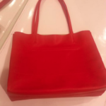 エルメスの赤いトートバッグ ピコタン風をゲット♡GU