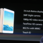 新しいAppleのタブレット iPad Air2