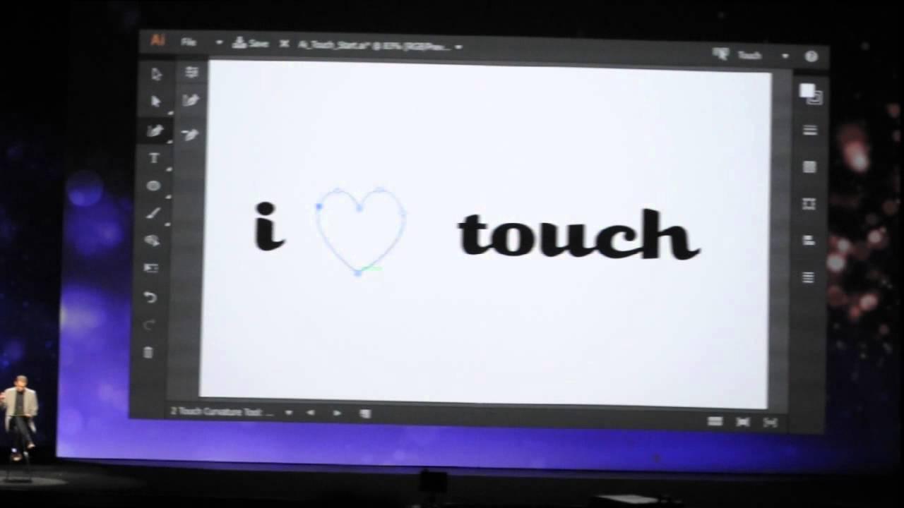 AdobeがShape,Illustrator Draw,Brush,などでベクター連携をクラウドで開始! 3