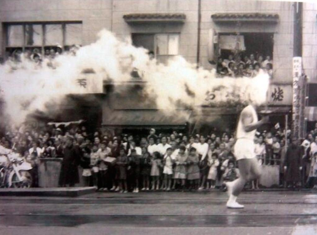東京オリンピックの想い出 聖火ランナー1964年 13