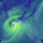 台風が近づいてきたらearth.nullschool.netでヴィジュアルチェック!