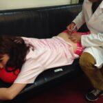 しょこたんオシリに注射!中川翔子 尾骨骨折で尻に注射する「衝撃写真」