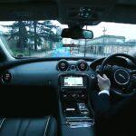 ギャラクシーエッジのようなクルマ!運転席からのピラーの死角にプロジェクションマッピング!