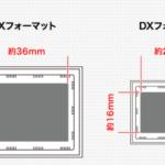 キヤノンとニコン APS-Cサイズ[DXフォーマット] フルサイズ[FXフォーマット]の違い