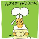 「すべては赦される」Je Suis CHARLIE  を描いてみた Adobe idea & Adobe Draw