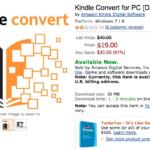 Amazon、手持ちの本をKindle電子ブックに変換するソフトを発売