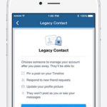 facebookに相続人譲渡サービスLegacy Contact