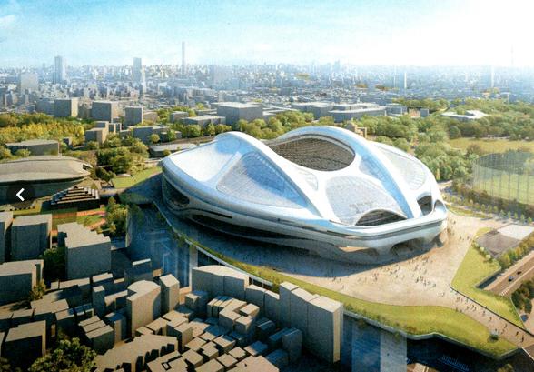 5万人収容の国立競技場を壊して5万人収容の新国立競技場を3000億円かけて作るハナシ? 3