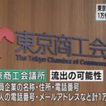 標的型メールの標的、今度は東京商工会議所