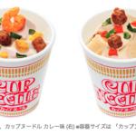 カップヌードル味のソフトクリーム?なぬ?