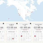 KNN世界時計 世界の通貨 世界のGDP FXツール