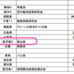大臣をマイナンバー化してクリーニングしてみる 新・農水相 森山裕氏の場合