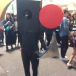 今年のハロウィン暫定グランプリ!は東京オリンピックエンブレム男