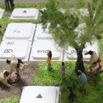 キーボード上の宇宙に草原世界を創る。やはりデイリーポータルZは天才である!