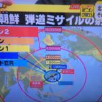北朝鮮、ミサイルの射程距離 1万キロ到達 米国に届く インフォグラフィックス