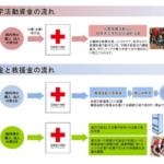 日本赤十字社の義援金が届くまでのプロセス