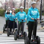 セグウェイに乗れる – 東京都の二子玉川で公道走行の実証実験 未だに19世紀の『赤旗法』時代