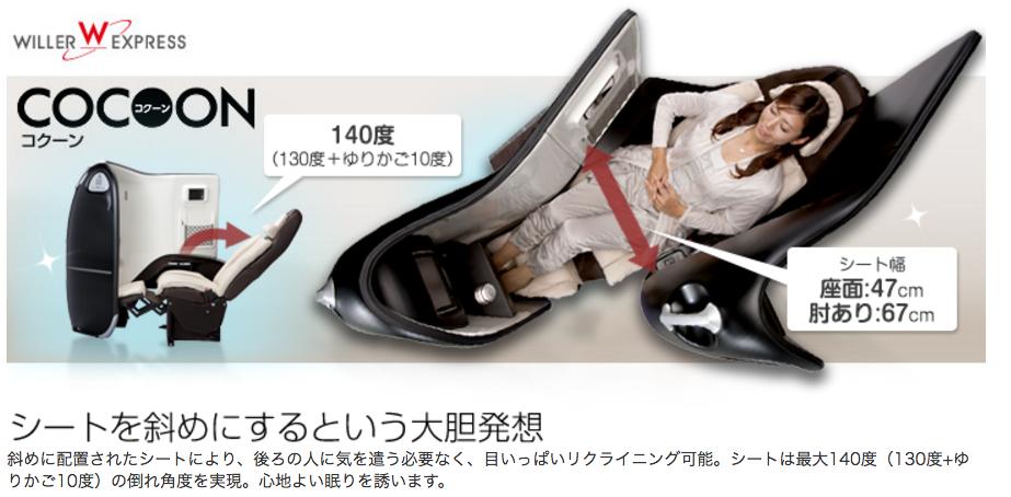 東京ー大阪間の深夜バスが1,700円って超びっくり!新幹線価格で8.5回分! 30
