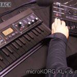 ミニキーボードでも十分に楽しめる!KORG microKEY-25 & KORG microKORG XL+