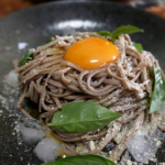 [cook] 超簡単!冷やしざるそばパルミジャーノ