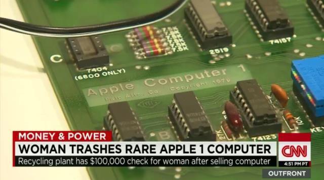 20万ドル相当の「アップル1」、捨てちゃった女性は? 稼働品は、最高約8400万円で落札! 4