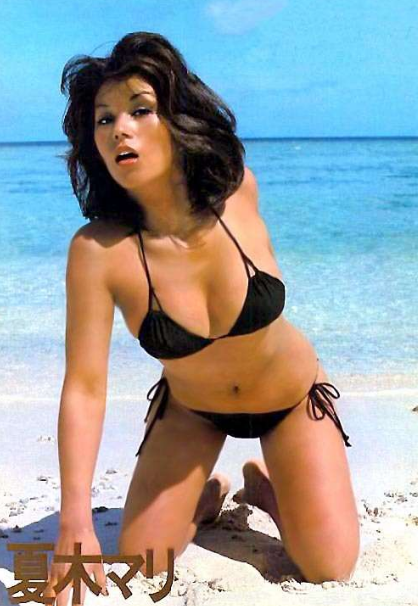 昭和の夏木マリさん『絹の靴下』『おてやわらかに』『夏のせいかしら』 18