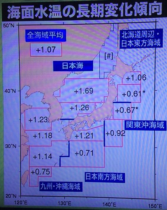 海水温度が1度上昇するとこれだけの台風被害? 二酸化炭素だけが原因か? 3