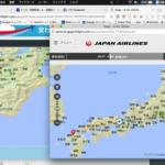 JALの15分間無料のインターネット機内接続