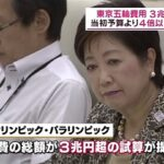 東京五輪 開催費総額3兆円超、当初の4倍になるのが普通の感覚の総額別管理