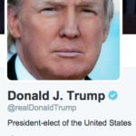 次期米国大統領ドナルド・トランプ氏のソーシャル・リップサービス