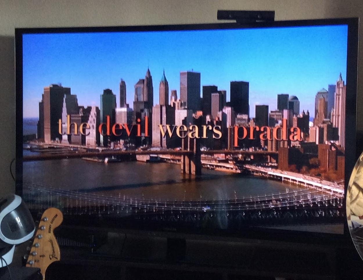 英語学習の流し聴きにはラブロマンス映画がオススメ♡「プラダを着た悪魔」 24