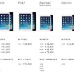 iPad mini retina  2013年11月12日、本日発売!