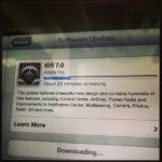 iOS7をインストール中!
