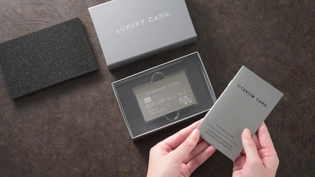 クレジットカードに金属的趣味のラグジュアリーを求める人って、どれくらいいるんだろうか? 48