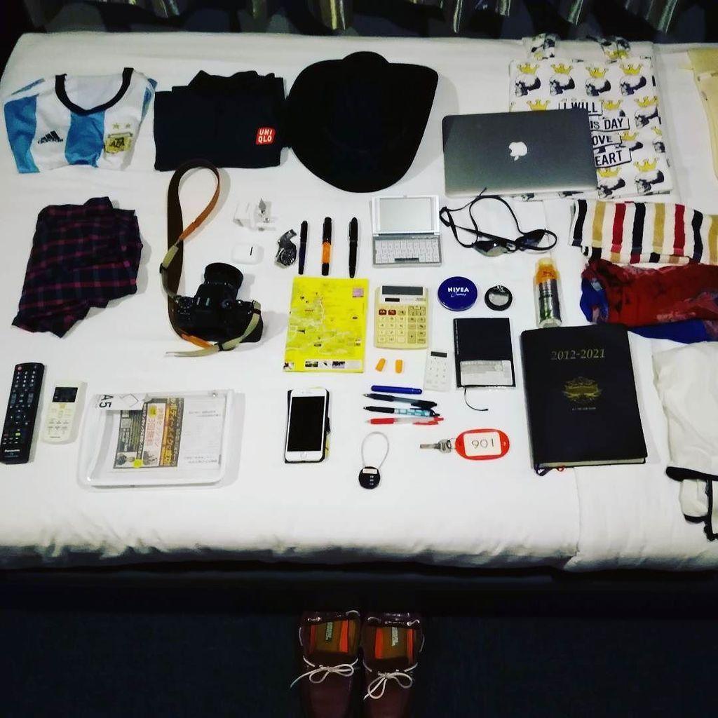 スーツケースのいらない旅、機内持ち込みキャリーオンだけのミニ旅行 2