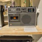 蘇るラジカセ世代sony ラジカセSONY CF-1765がほぼ完璧に新品状態で!