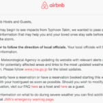 Airbnbの最高の顧客視点に学ぶ〜日本は台風gaのでキャンセルはお早めに〜